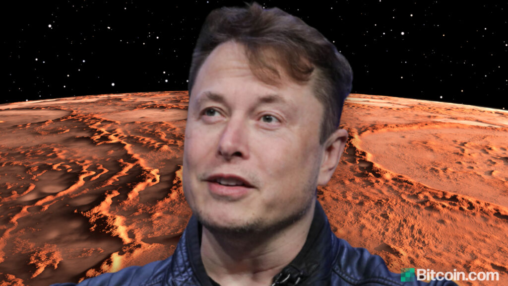 Elon Musk Endorses Cryptocurrency for Martian Economy ...